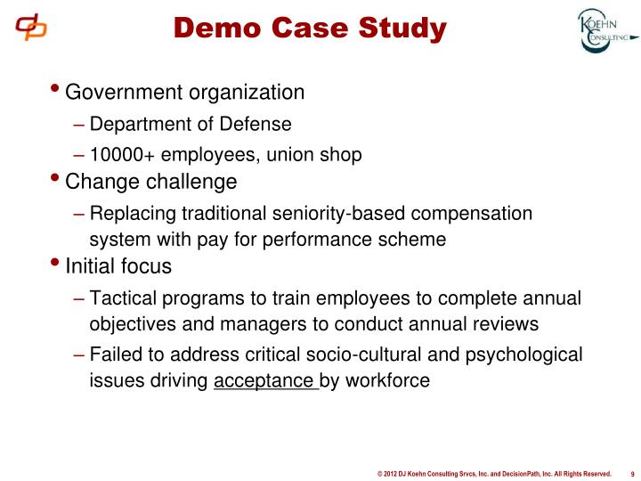 Demo Case Study