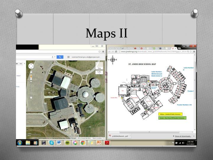 Maps II