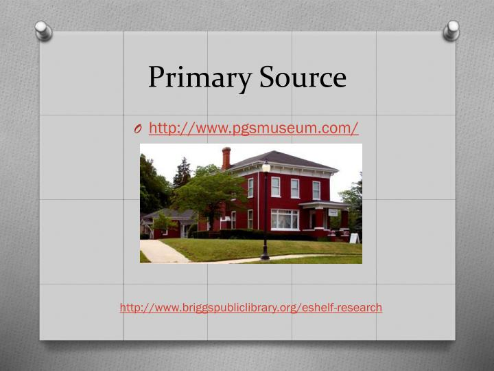 Primary Source