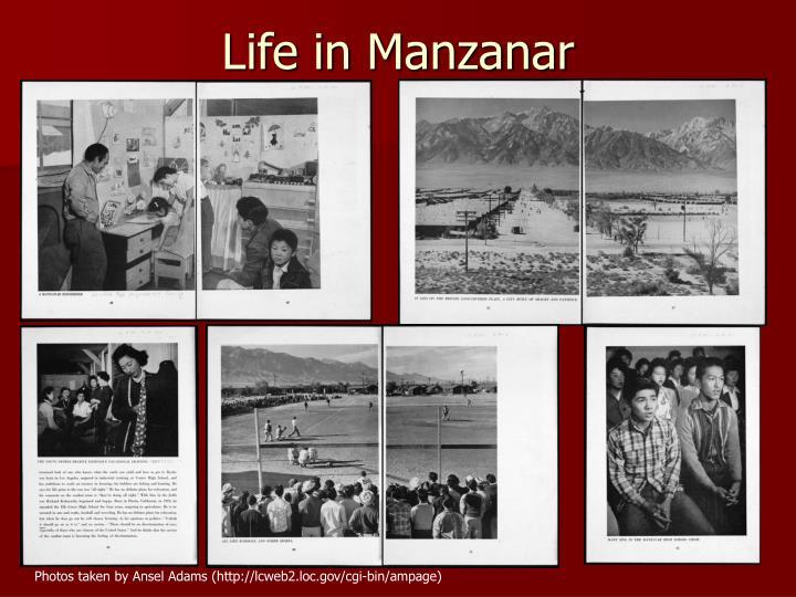 Life in Manzanar
