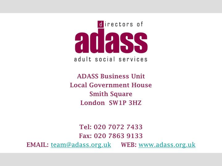 ADASS Business Unit