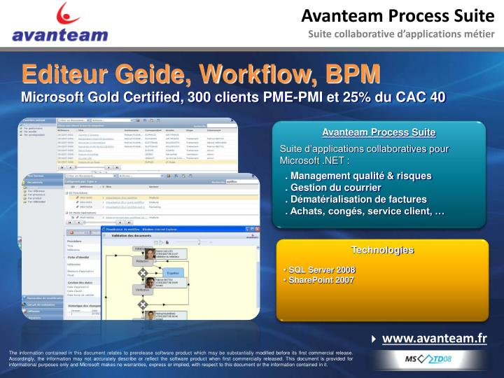 Avanteam Process Suite
