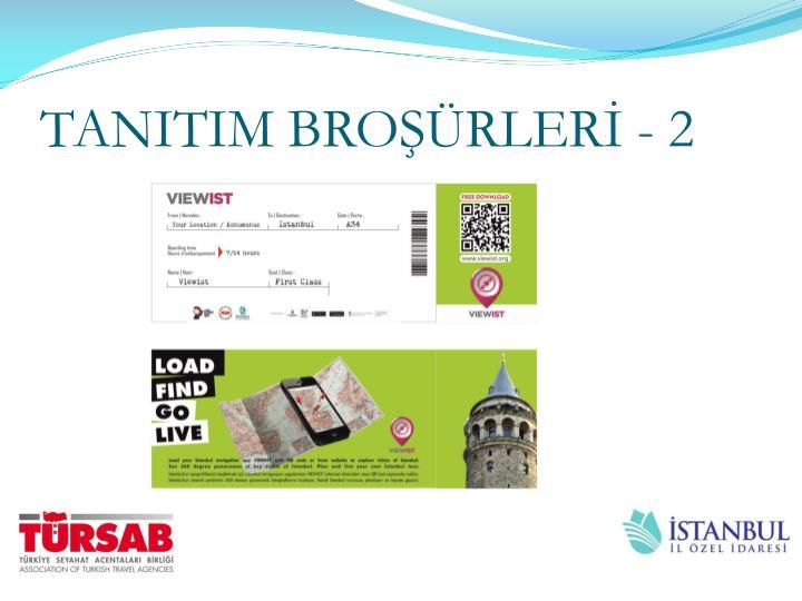 TANITIM BROŞÜRLERİ - 2
