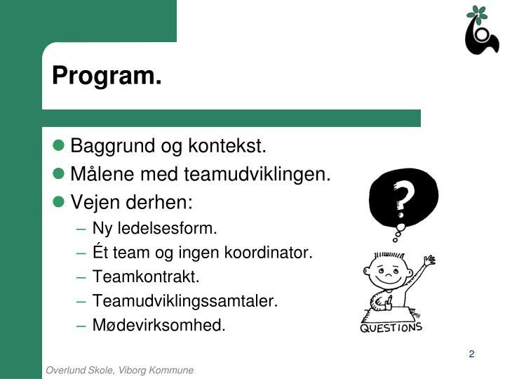 Program.