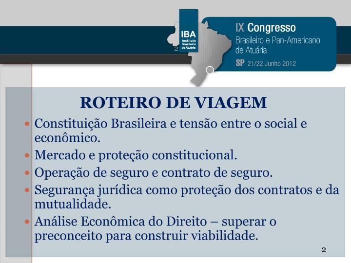 ROTEIRO DE VIAGEM
