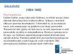 galileusz 1564 1642