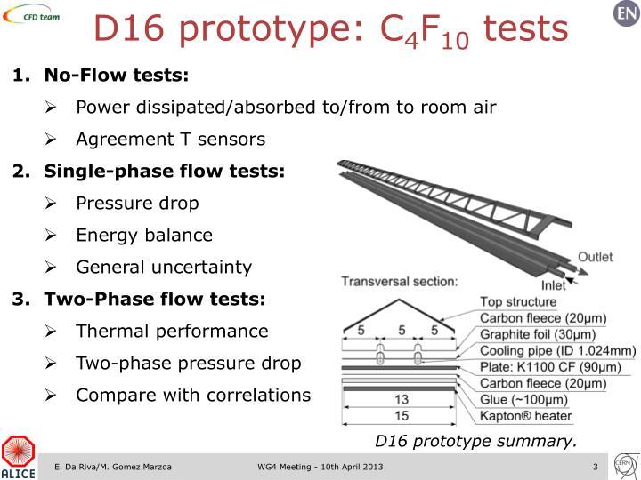 D16 prototype: C