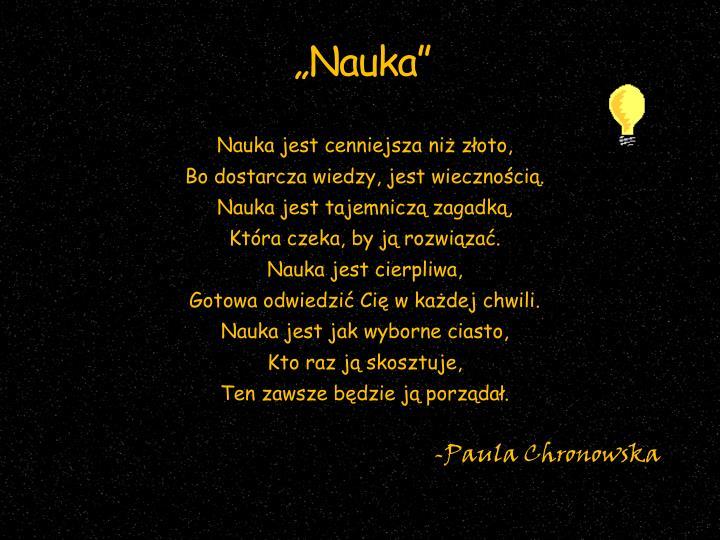 """""""Nauka"""""""