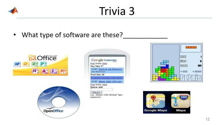 Trivia 3