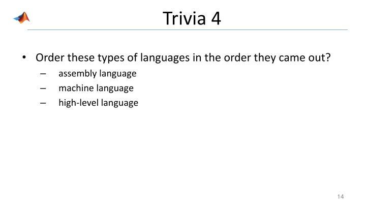 Trivia 4