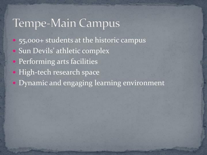 Tempe-Main Campus