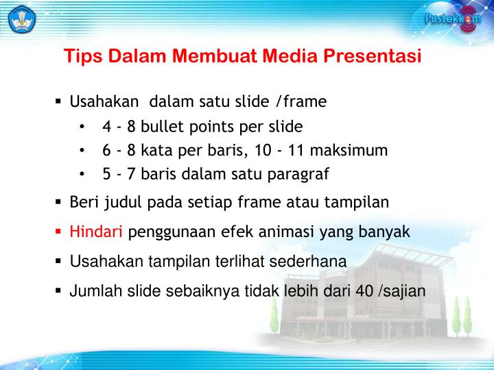 Tips Dalam Membuat Media Presentasi