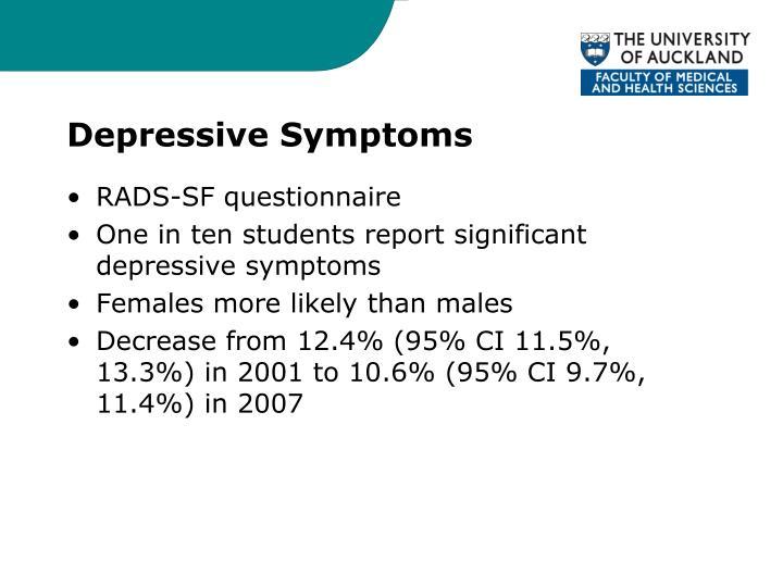 Depressive Symptoms