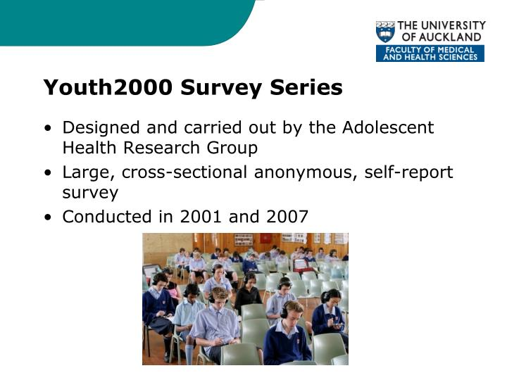 Youth2000 Survey Series