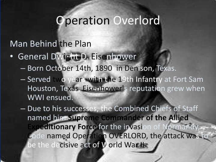 O peration overlord