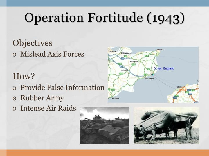 Operation Fortitude (1943)