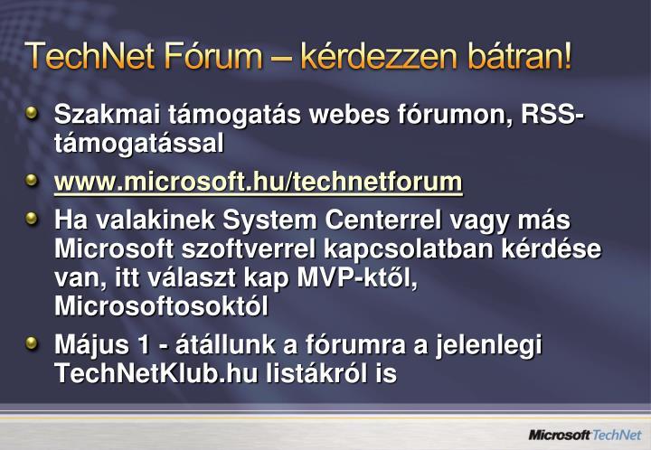 TechNet Fórum