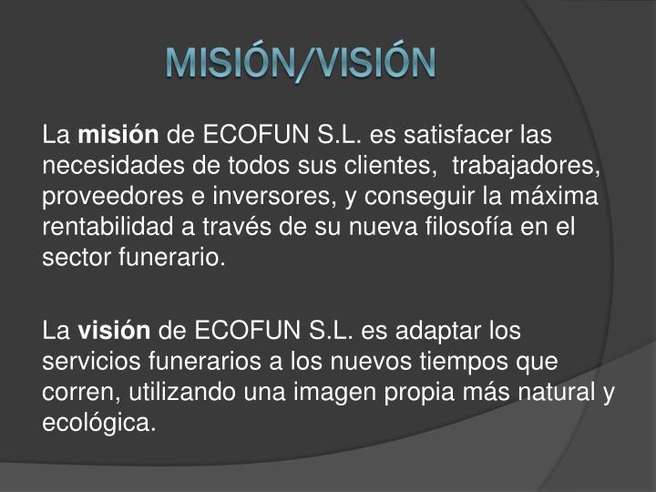 Misión/VISIÓN