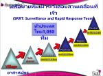 srrt surveillance and rapid response team