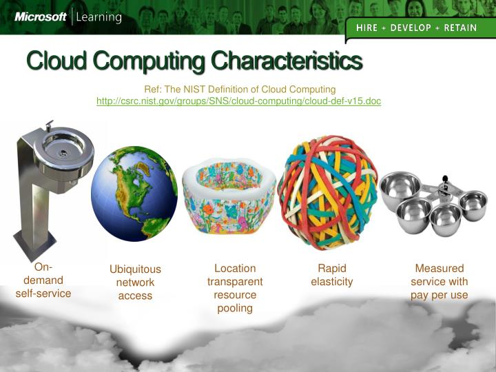 Cloud Computing Characteristics