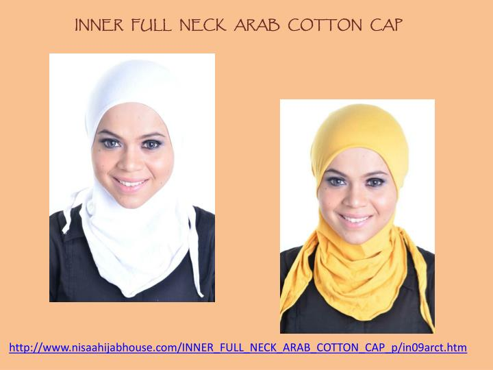 INNER   FULL   NECK   ARAB   COTTON   CAP
