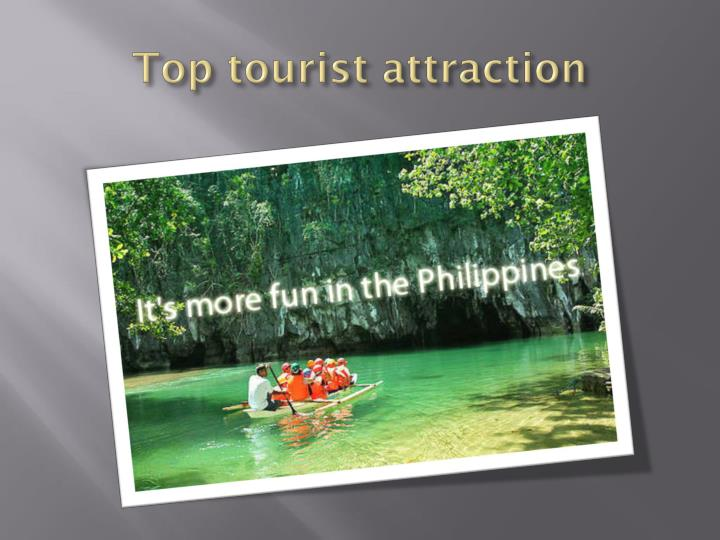 Top tourist attraction