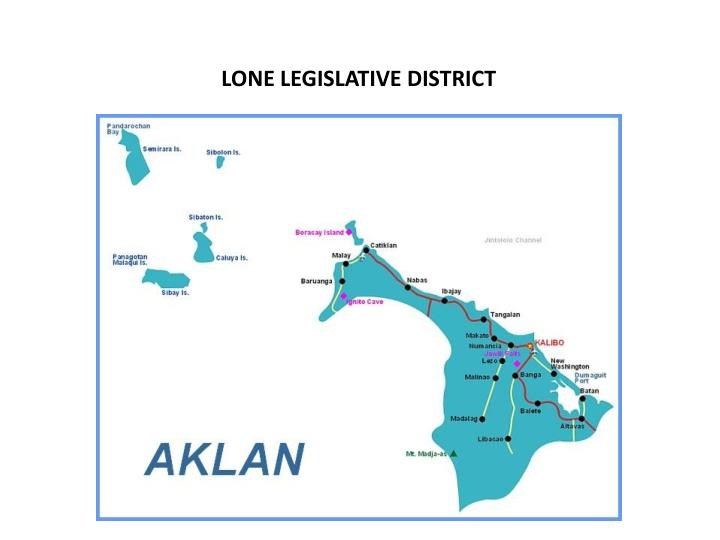 LONE LEGISLATIVE DISTRICT