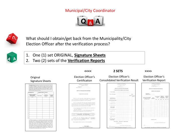 Municipal/City