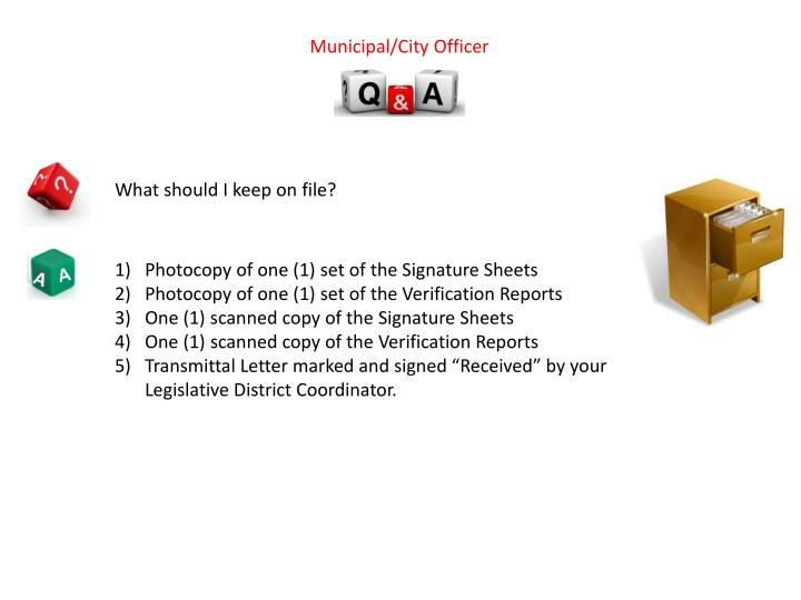 Municipal/City Officer