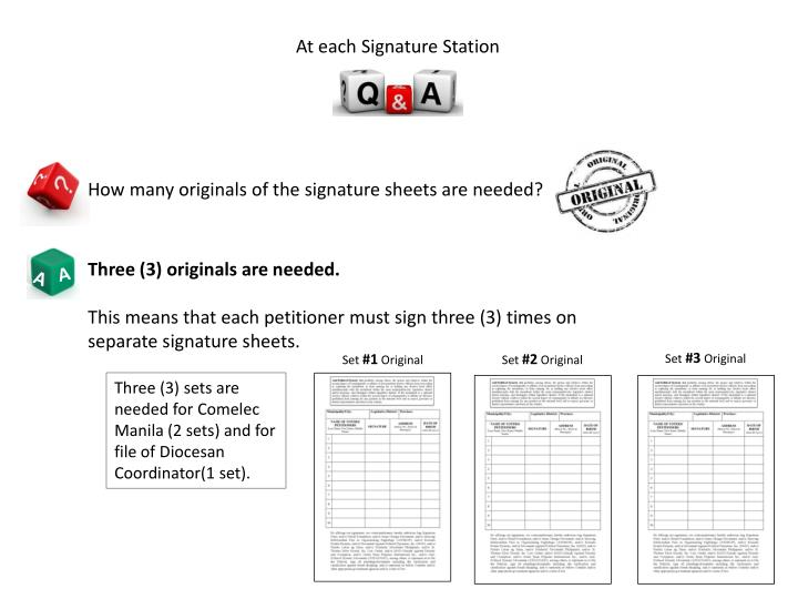 At each Signature Station