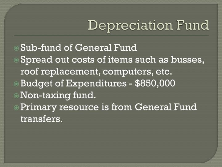 Depreciation Fund
