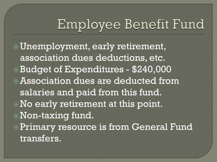 Employee Benefit Fund