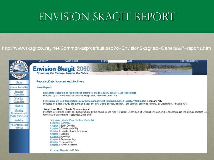 Envision Skagit Report