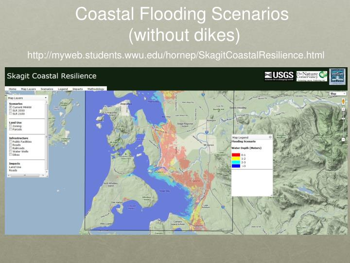 Coastal Flooding Scenarios