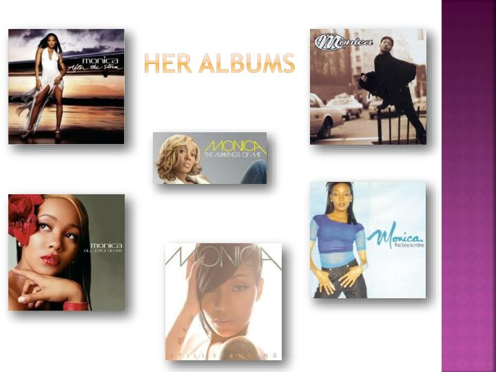 Her albums