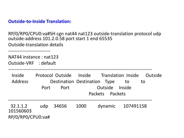 Outside-to-Inside Translation: