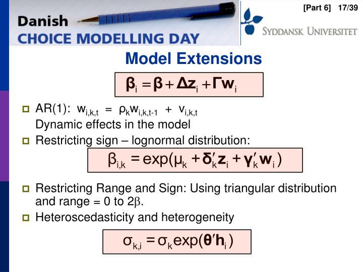Model Extensions