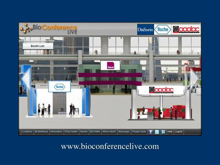 www.bioconferencelive.com