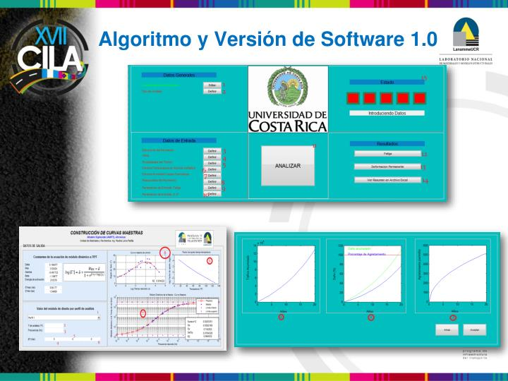 Algoritmo y Versión de Software 1.0