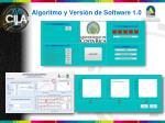 algoritmo y versi n de software 1 01
