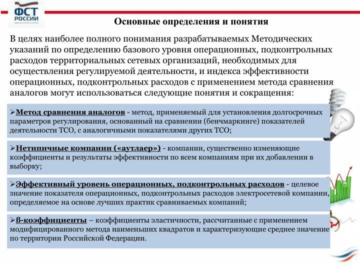 Основные определения и понятия