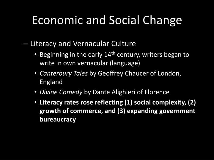 economic growth and social change in Generational change, economic development, and political reform in  the  economic and social changes that will occur in china over the.