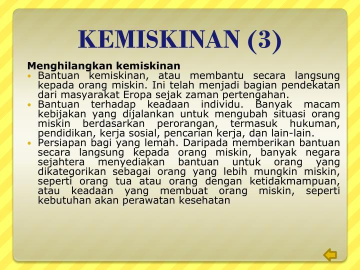 KEMISKINAN (3)