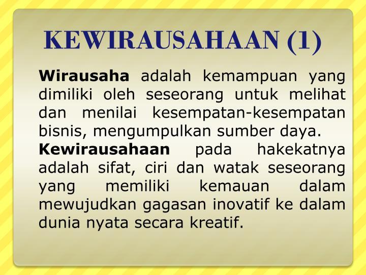 KEWIRAUSAHAAN (1)