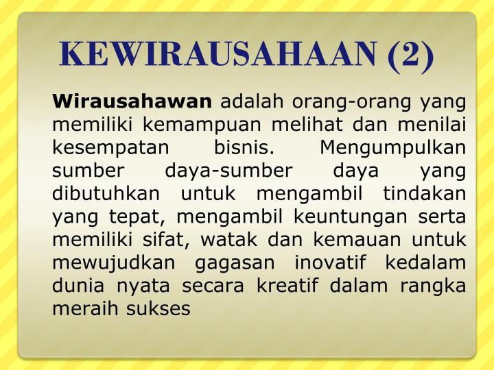 KEWIRAUSAHAAN (2)
