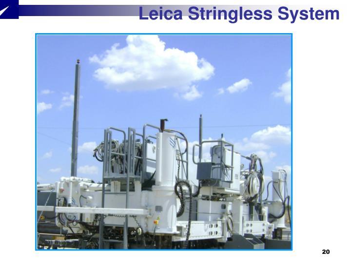 Leica Stringless System