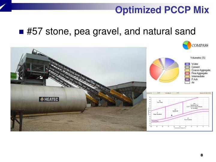 Optimized PCCP Mix