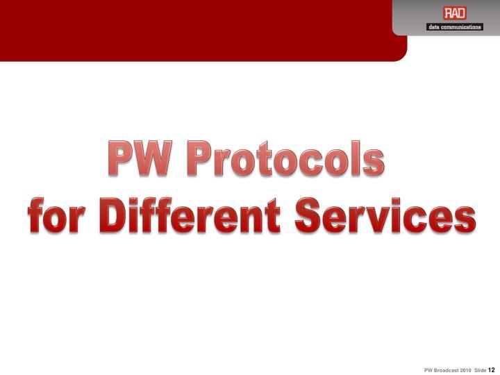 PW Protocols