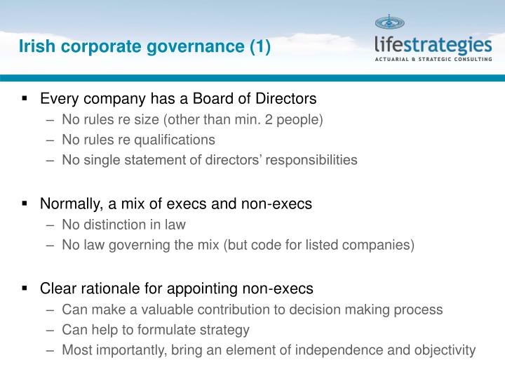 Irish corporate governance (1)