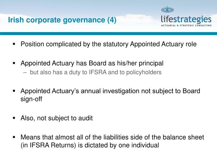 Irish corporate governance (4)
